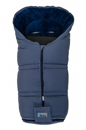 Зимний конверт Altabebe Sympatex  (Grey blue/navy blue)