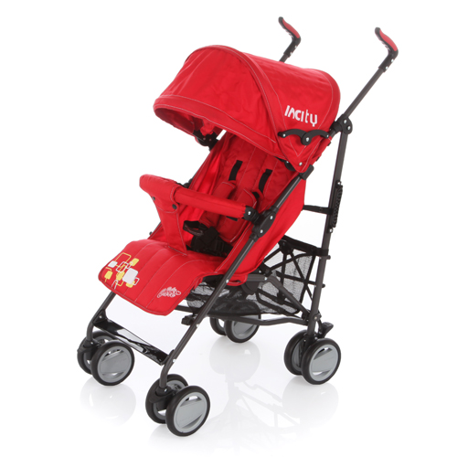 Коляска детская In City (Baby Care)  ВТ1109 (Red)