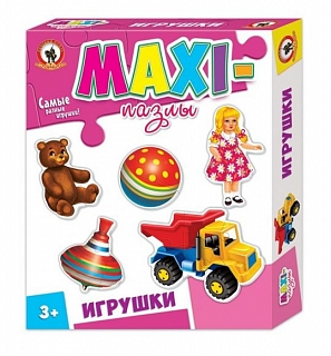 Пазлы Макси Игрушки 07130