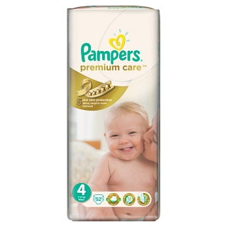 Подгузники Pampers Premium Care 4 7-14 кг (52 шт)