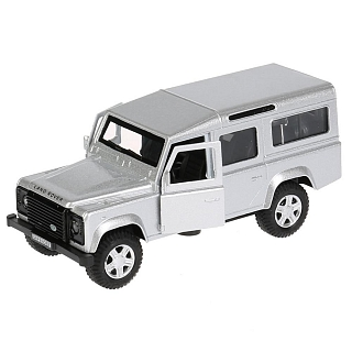 Машина металл LAND ROVER DEFENDER 12см, открыв. двери, инерц, DEFENDER-SL